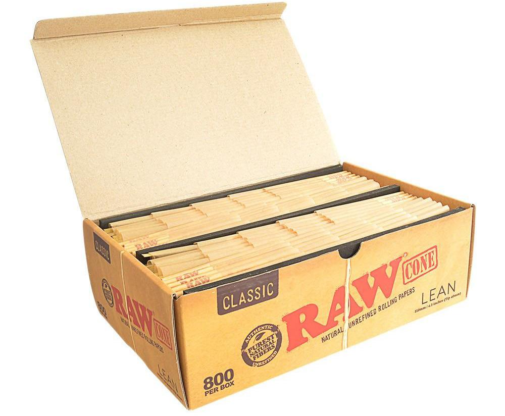 RAW® Lean Cones 800 pack
