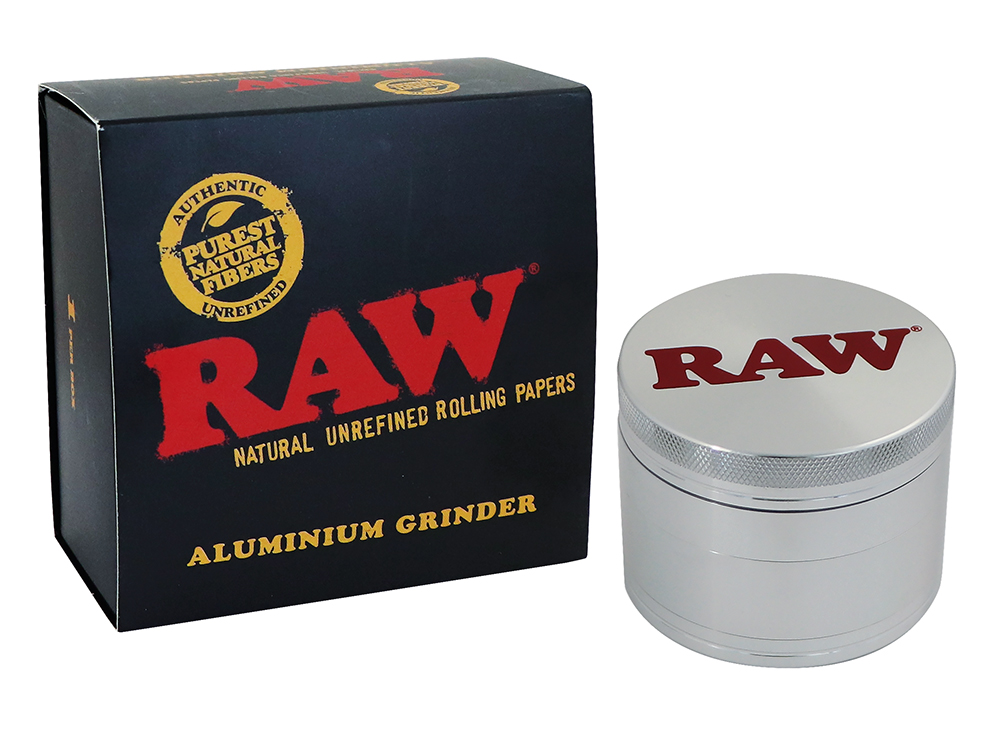RAW® Aluminium Grinder - 4 delig