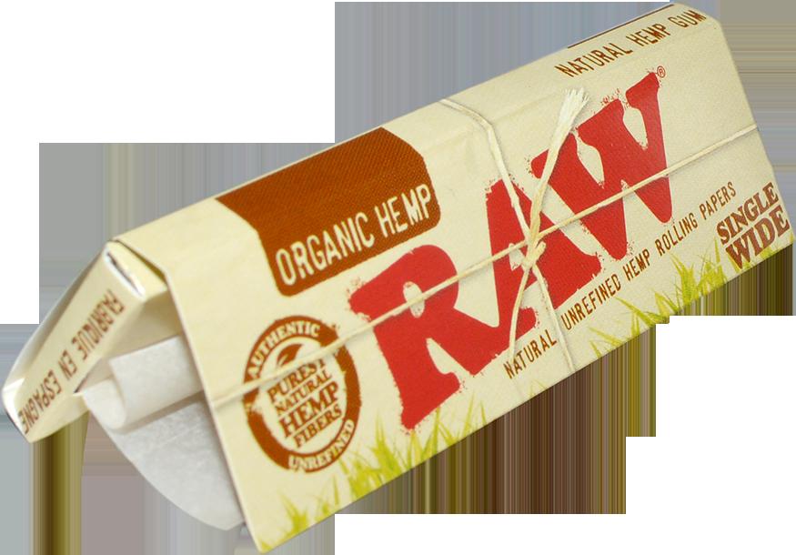 RAW® Organic Hemp - Single Wide