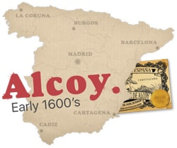 Alcoy, Spanje
