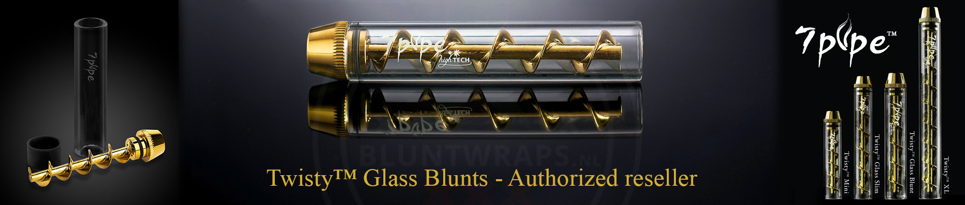 Twisty™ Glass Blunts - Authorized reseller