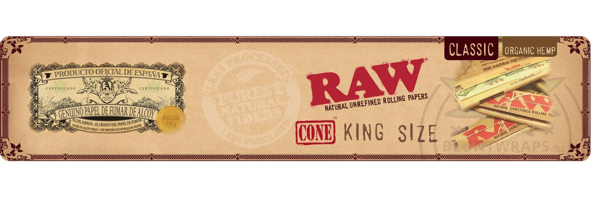 RAW® King Size cones
