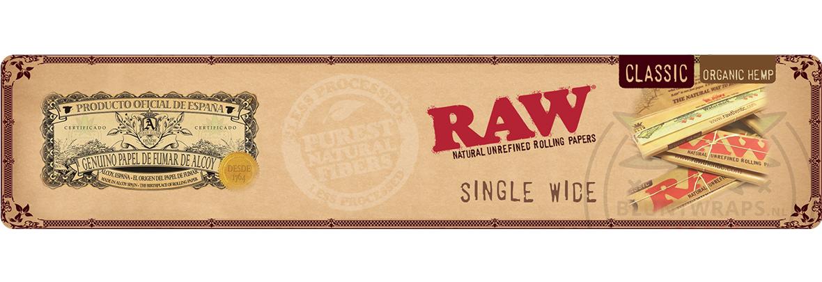 RAW® Single Wide vloei