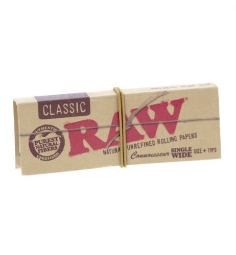 RAW® Classic - Single Wide - Connoisseur + tips