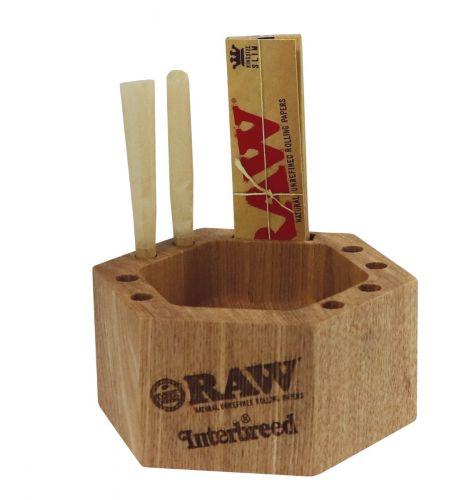 Interbreed® X RAW® - Japanese Wood ashtray - Limited