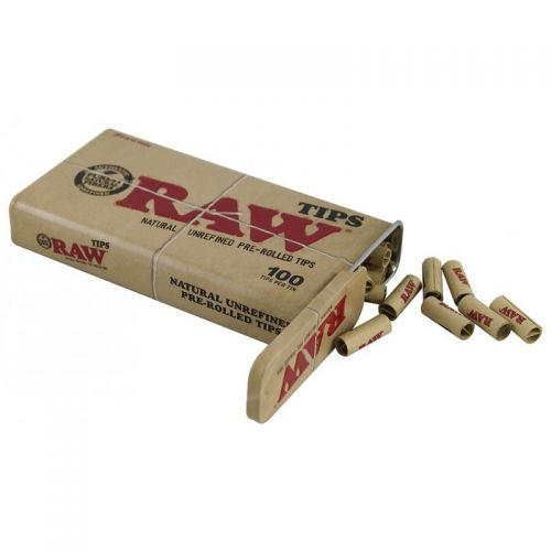 RAW® Pre-rolled Filter Tips - 6 mm - 100 stuks