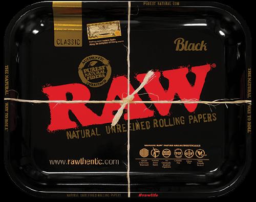 RAW® Classic Black - Rolling Tray - Medium - 34 x 27.5 cm