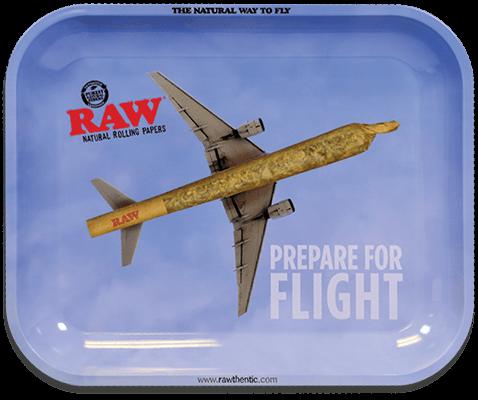 RAW® Rolling Tray - Flying - Medium - 34 x 27.5 cm