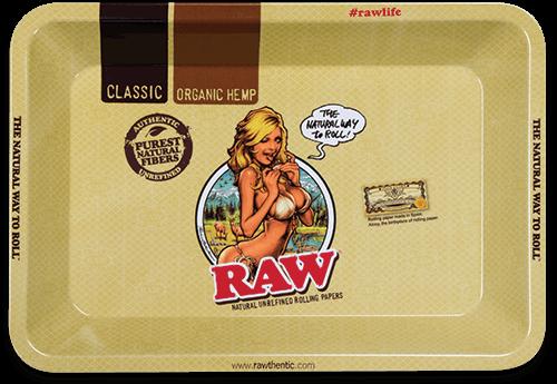 RAW® Rolling Tray - Girl - Mini - 18 x 12.5 cm