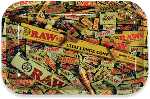 RAW® Rolling Tray - Mix - Small - 27.5 x 17.5 cm