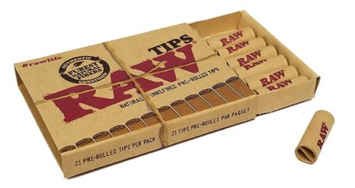 RAW® Pre-rolled Filter Tips - 6 mm