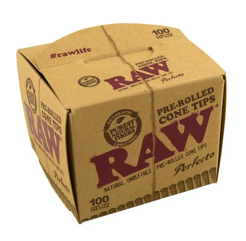RAW® Pre-rolled Filter Tips - Perfecto - 100 stuks