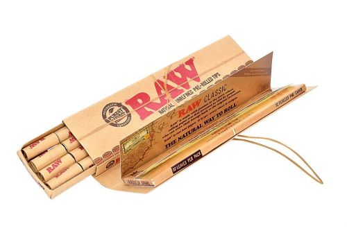 RAW® Classic - King Size Slim - Connoisseur + pre-rolled tips