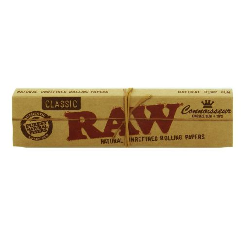 RAW® Classic - King Size Slim - Connoisseur + tips
