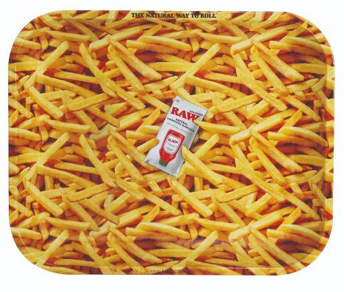 RAW® Rolling Tray - French Fries - Medium - 34 x 27.5 cm