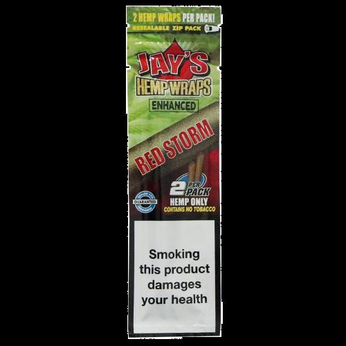 Jay's® Hemp Wraps Enhanced - Red Storm