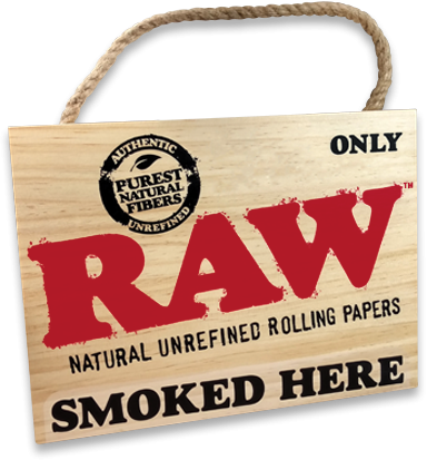 RAW® Sign - Please Cone In