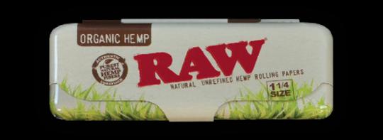 RAW® Vloei Case - Organic Hemp - 1¼ & Single Wide