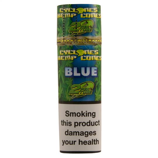 Cyclones® Hemp Cones - Blue