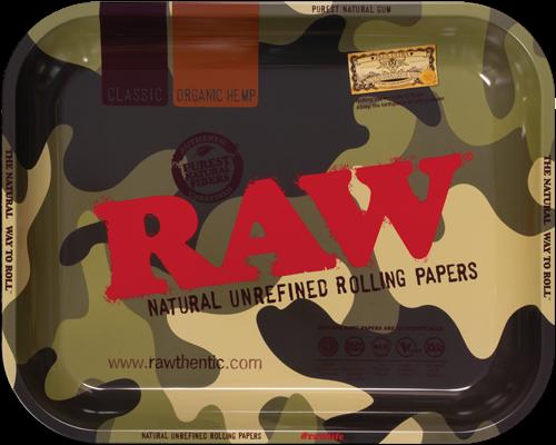 RAW® Rolling Tray - Camouflage - Medium - 34 x 27.5 cm