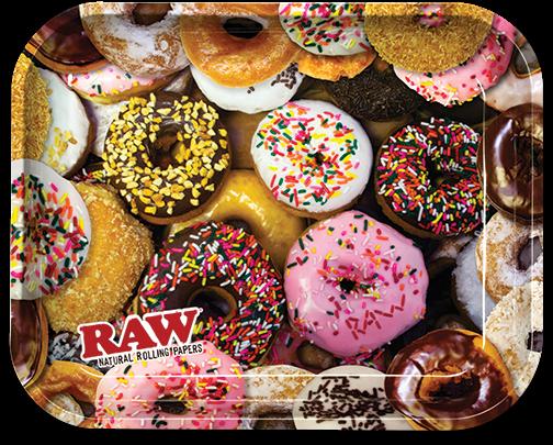 RAW® Rolling Tray - Donut - Medium - 34 x 27.5 cm