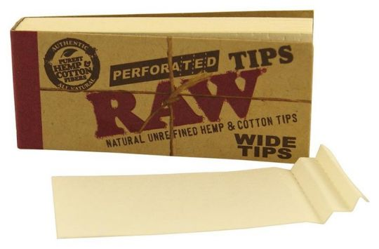 RAW® Wide Tips Perforated