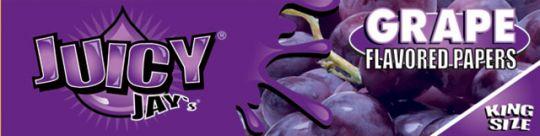 Juicy Jay's® Grape (Druiven) - King Size Slim