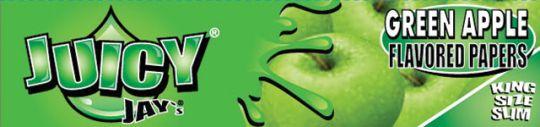 Juicy Jay's® Green Apple (Appel) - King Size Slim