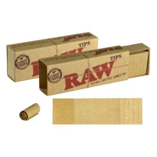 RAW® Perforated Gummed Tips