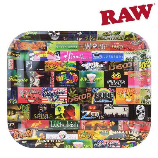RAW® Rolling Tray - History 101 - Medium - 34 x 27.5 cm