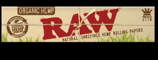 RAW® Organic Hemp - King Size Slim