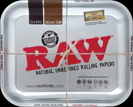 RAW® Rolling Tray - Metallic - Medium - 34 x 27.5 cm
