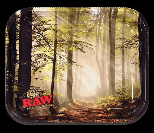 RAW® Rolling Tray - Forest - Medium - 34 x 27.5 cm