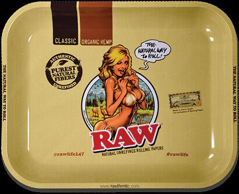 RAW® Rolling Tray - Girl - Medium - 34 x 27.5 cm