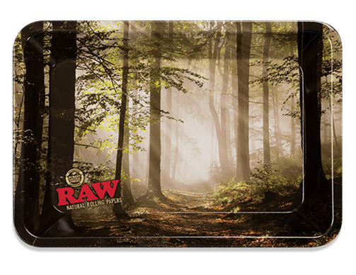RAW® Rolling Tray - Forest - Mini - 18 x 12.5 cm