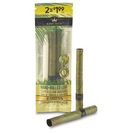 King Palm® Natural Leaf - Mini - 2 pack