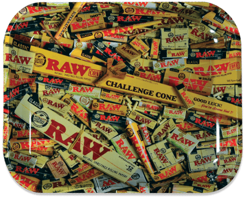 RAW® Rolling Tray - Mix - Medium - 34 x 27.5 cm