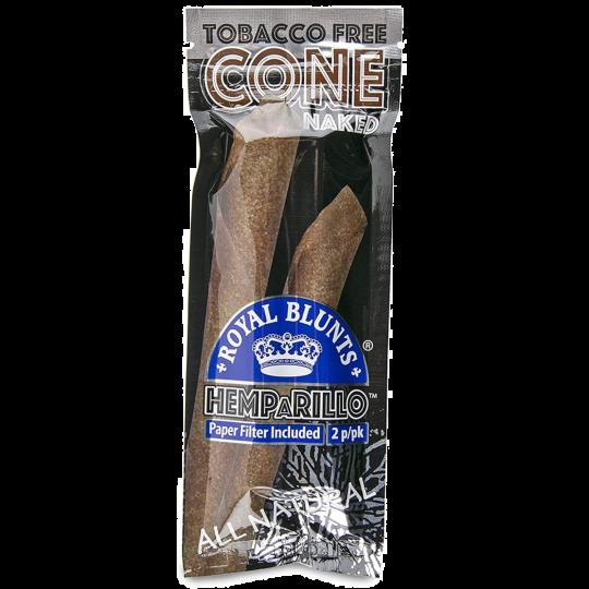 Royal Blunts® HEMPaRILLO cone - Naked