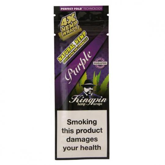 Kingpin® Hemp Wraps - Purple