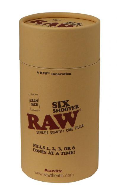 RAW® Six Shooter cone vuller - LEAN