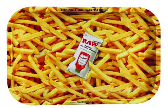 RAW® Rolling Tray - French Fries - Small - 27.5 x 17.5 cm