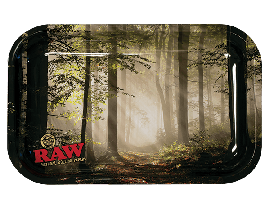 RAW® Rolling Tray - Forest - Small - 27.5 x 17.5 cm