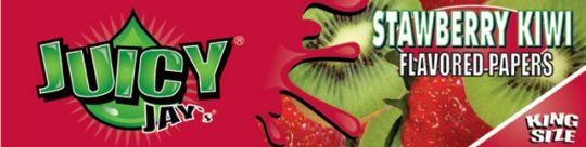 Juicy Jay's® Strawberry Kiwi (Aardbei Kiwi) - King Size Slim