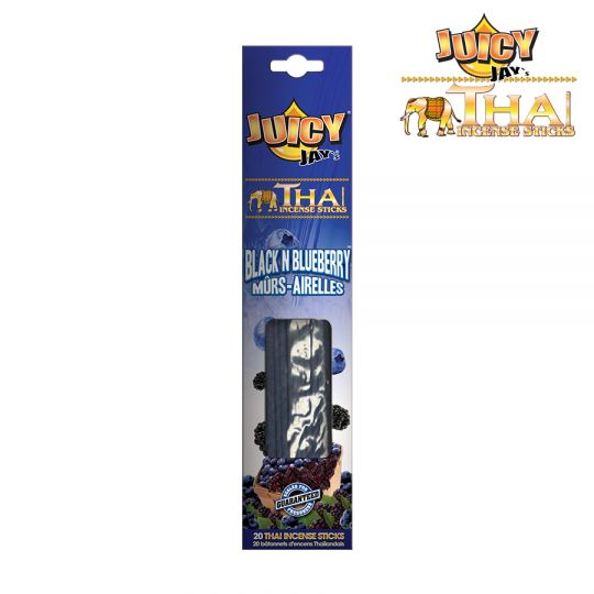 Juicy Jay's® - Thai Incense Sticks - Black N Blueberry