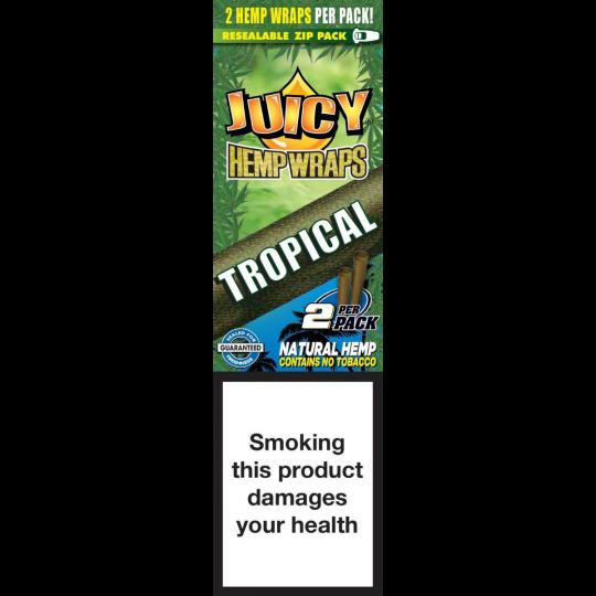 Juicy® Hemp Wraps - Tropical