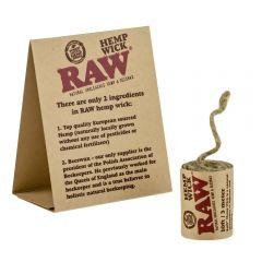 RAW® Hemp Wick Aansteek lont - 3 meter
