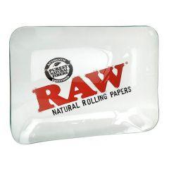 RAW® Rolling Tray - Glass - Medium - 32 x 26.5 cm