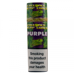 Cyclones® Hemp Cones - Purple